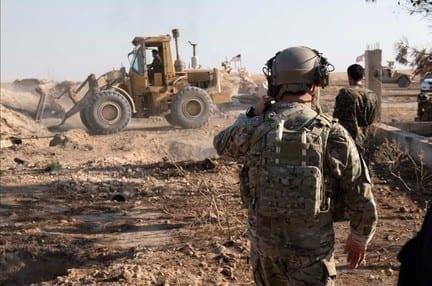 البنتاغون: بإشراف أمريكي «قسد» تفكك بعض تحصيناتها في المنطقة الآمنة