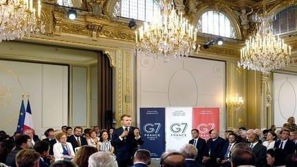 """وسط قضايا خلافية قمة مجموعة """"G7"""" تنطلق من مدينة بياريتس الفرنسية"""