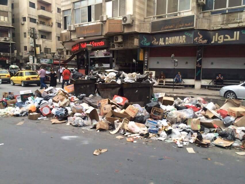 ريف دمشق.. النظافة خارج حسابات الحكومة والأهالي يدفعون الثمن