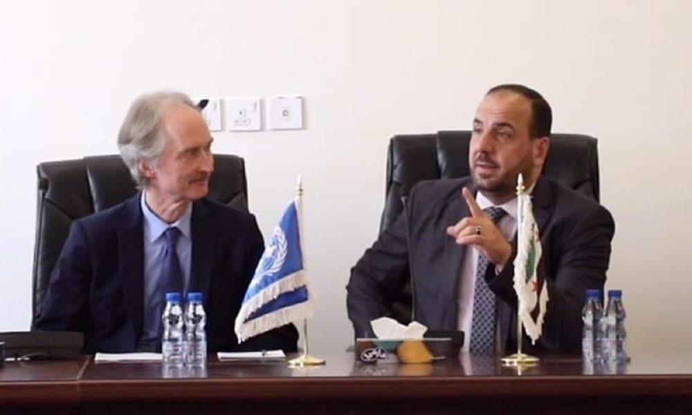 بيدرسن يعلن موعد الاجتماع الأول للجنة الدستورية السورية عبر وثيقة رسمية