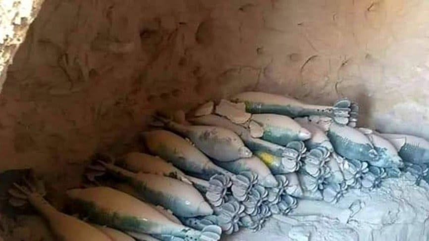الجيش السوري: عثرنا على مغارة للمعارضة في خان شيخون مساحتها نحو 10 آلاف متر مربع!
