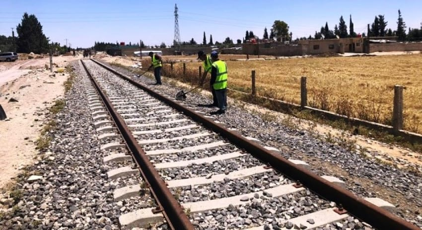 قطار حمص – دمشق إلى الخدمة ومحطة في القابون قريباً