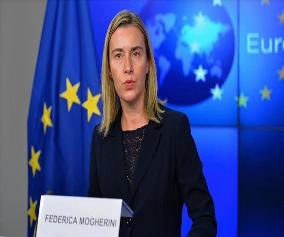 موغيريني تجدد تأييد الاتحاد الأوروبي للحل السياسي في سوريا