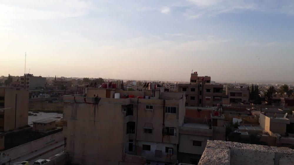 """أهالي """"رأس العين"""" يتظاهرون ضد ممارسات """"نبع السلام """" شمال شرقي سوريا"""