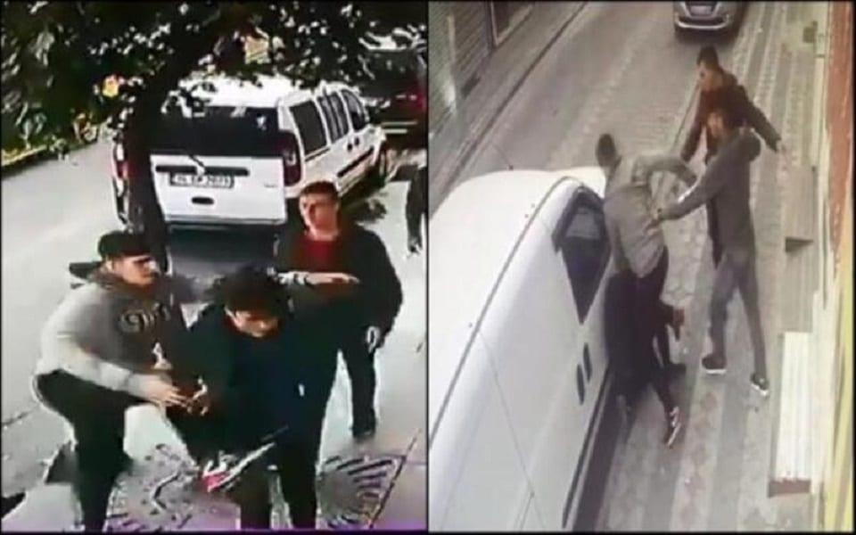 لاجيٌ سوريّ يتعرض للضرب والسرقة في وضح النهار باسطنبول