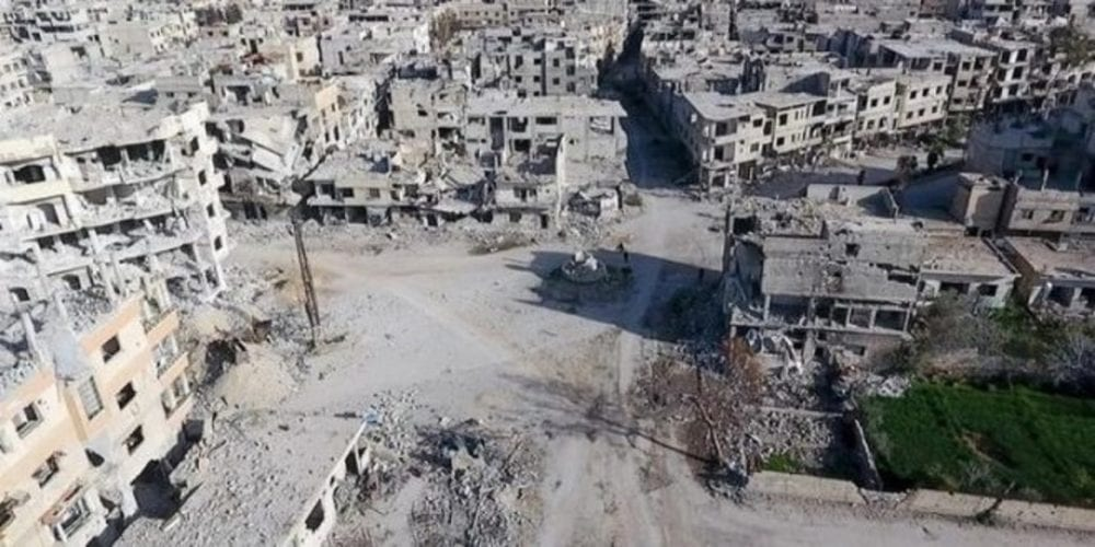 مقتل وجرح 4 عناصر في انفجارٍ استهدف حاجزاً للأمن السياسي في غوطة دمشق الشرقية