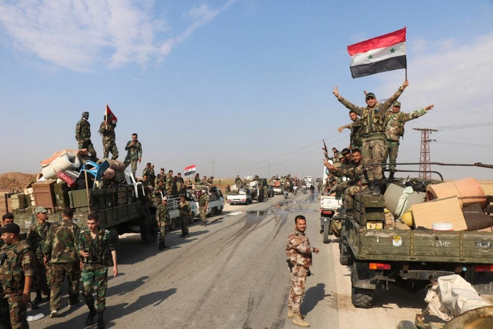 إصابة ضابطين برتب رفيعة… والجيش السوري ينتزع قرية من القوات التركية