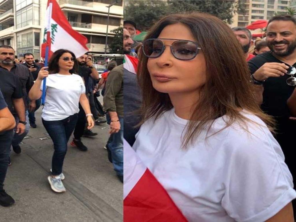 الفنانة «إليسا»: الثورة اللبنانية ثورة وثروة أخلاق