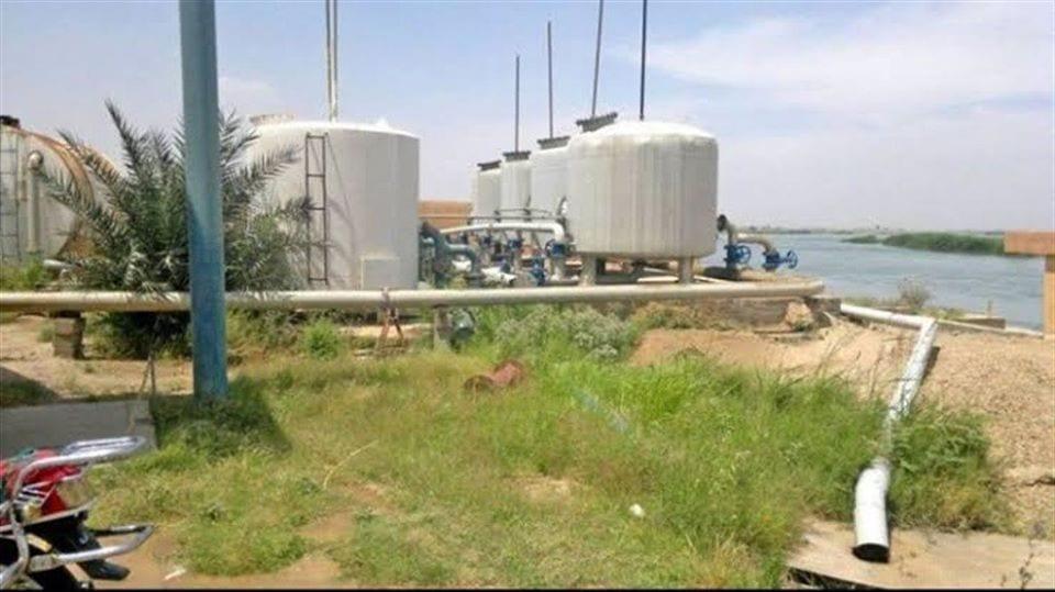 إعادة تأهيل محطة مياه ذيبان في دير الزور