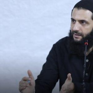 زعيم هيئة تحرير الشام أبو محمد الجولاني - وكالة إباء