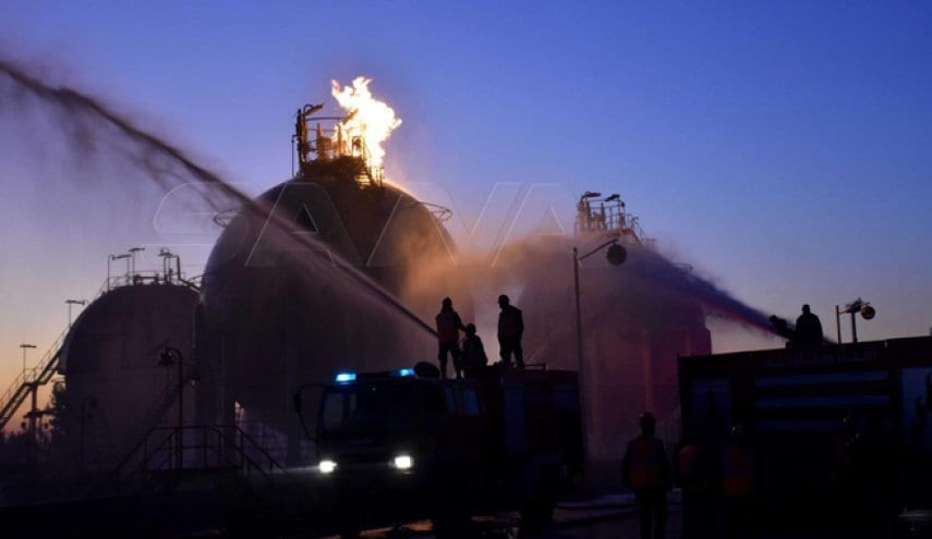 حمص: هجمات على منشآت نفطية سورية توقف الإنتاج