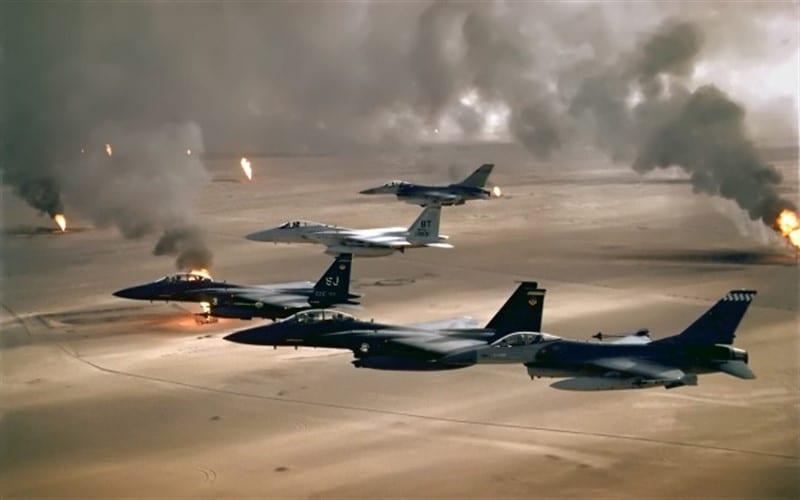 القوّات الأمريكية تقصف مواقع لـ«حزب الله» في سوريا والعراق