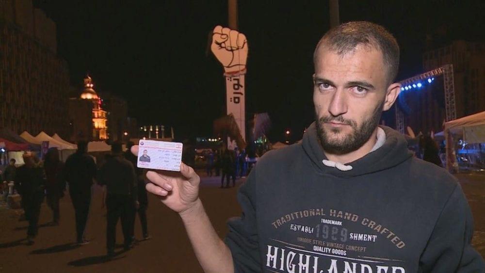 «ابن حزب الله ميت جوع»… متطوع في الحزب يكسر بطاقته أمام الكاميرا (فيديو)