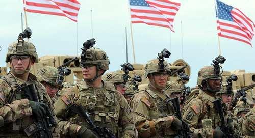 قوات في الجيش الأمريكي