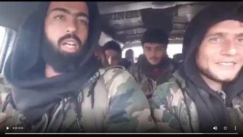 مقاتلون في «الجيش الوطني» يوثقون رحلتهم إلى ليبيا