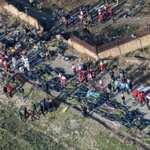 صورة من موقع سقوط الطائرة الأوكرانية قرب مطار طهران