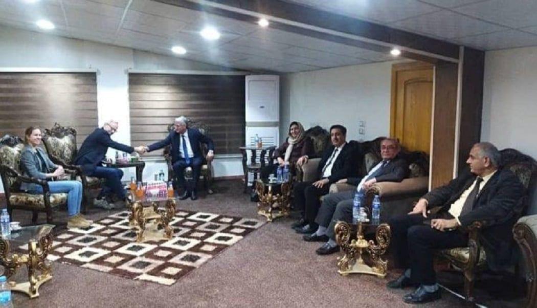 وليام روباك: وحدة الموقف الكردي ستنعكس إيجابياً على الحل السياسي في سوريا