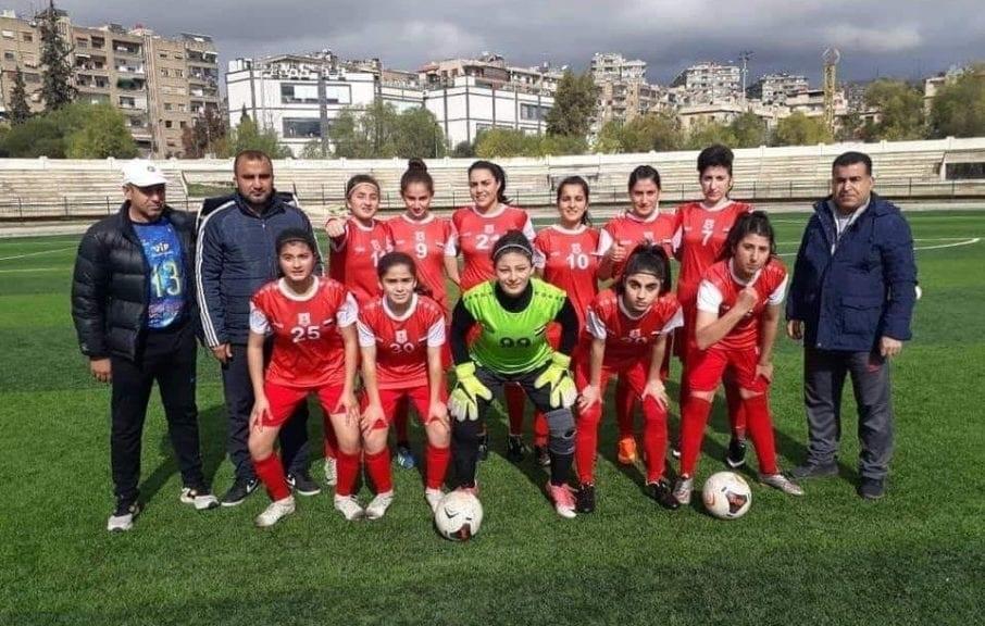 فريق سيدات عامودا لكرة القدم يحصد 3 إنجازات في أول نسخة نسائية للدوري السوري
