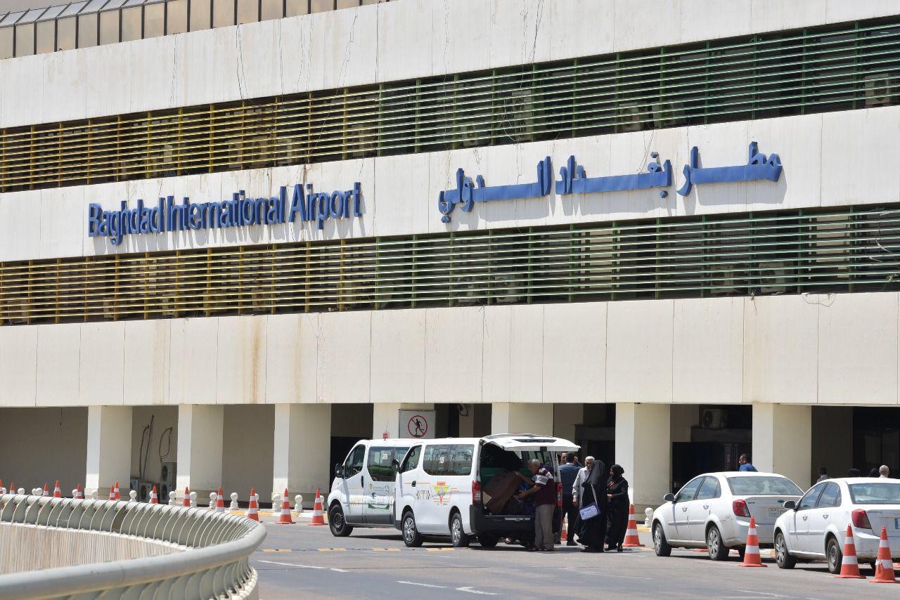 """(صُوَر): إخلاء مواد «شديدَة الخطورَة» من """"مطار بغداد"""" الدولي"""