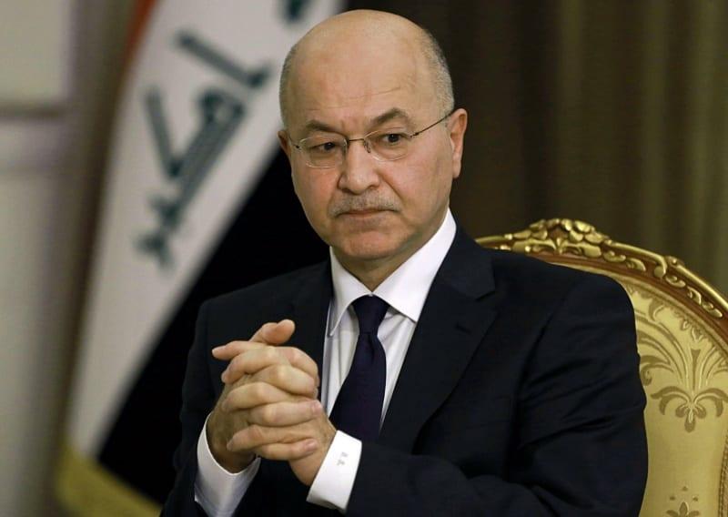 """العراق: """"صالح"""" وَ""""بلاسخارت"""" يُؤكٖدان على ضرورة توفير النزاهَة للانتخابات المُبَكّرَة"""