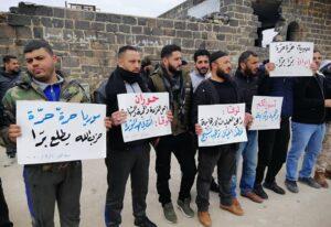 """بضغط من """"روسيا"""" أجهزة الأمن السورية تفرج عن 61 معتقلاً من أبناء درعا"""