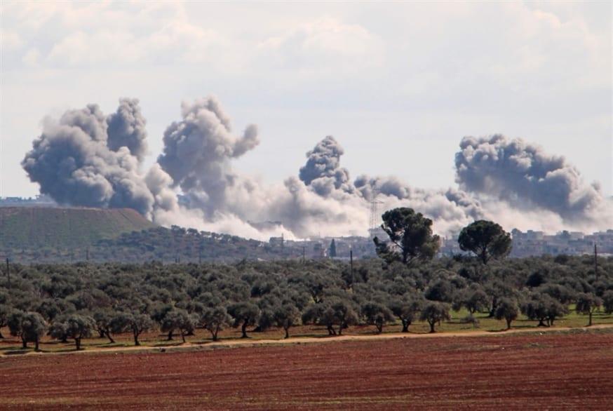 تحت أنظار الطائرات الروسية الجيش السوري يجدد خرقه للهدنة في إدلب