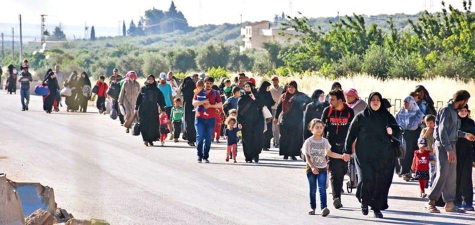 الإدارة الذاتية: مستعدون لاستقبال نازحي إدلب وعلى الأمم المتحدة تقديم المساعدة