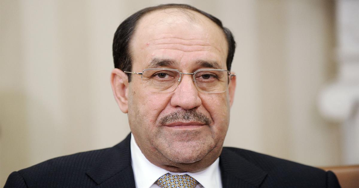 """المالكي: تظاهرات """"تشرين"""" مسرحية… جهات استغلت مطالب المحتجين"""