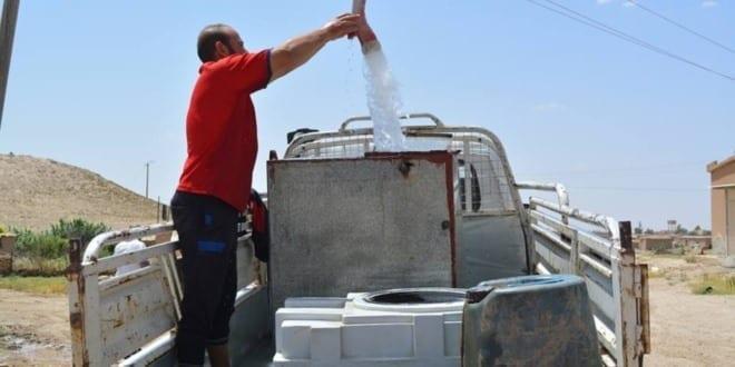 تركيا تقطع مياه الشرب عن مدينة الحسكة واليونيسف تحذر..
