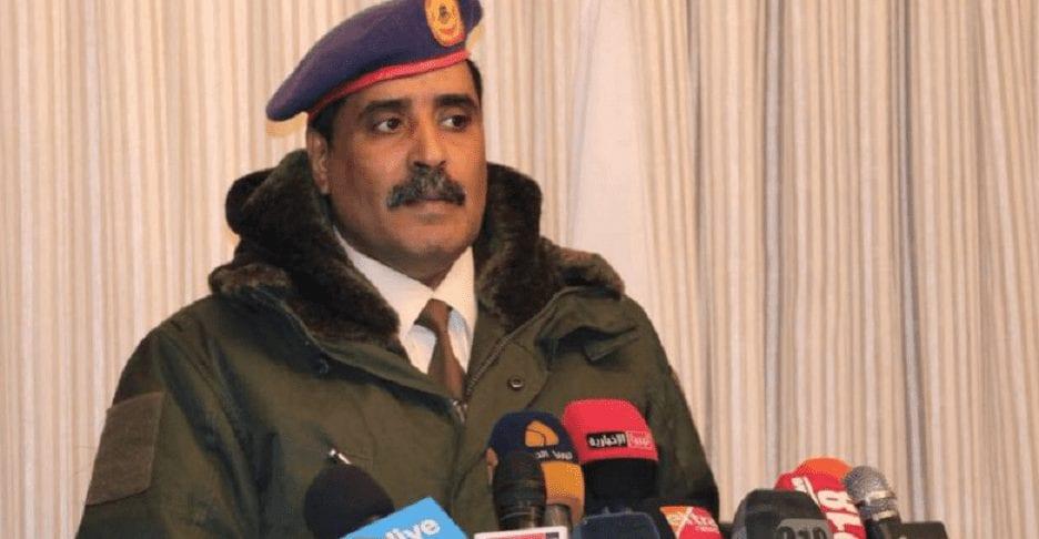 """الجيش الليبي يتّهم """"إردوغان"""" بنقل مئات الضباط الأتراك للقتال في طرابلس"""