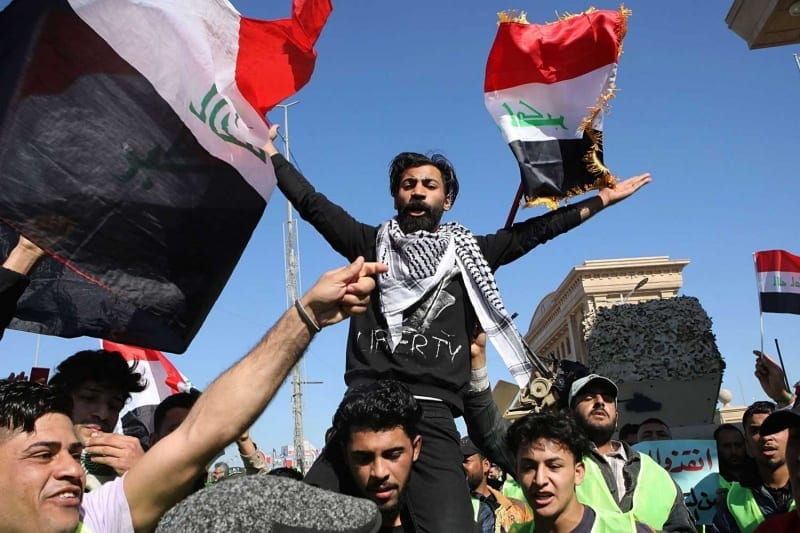 تقرير يكشفأسباب الإصرار الإيراني على إسكات المتظاهرين في البصرة