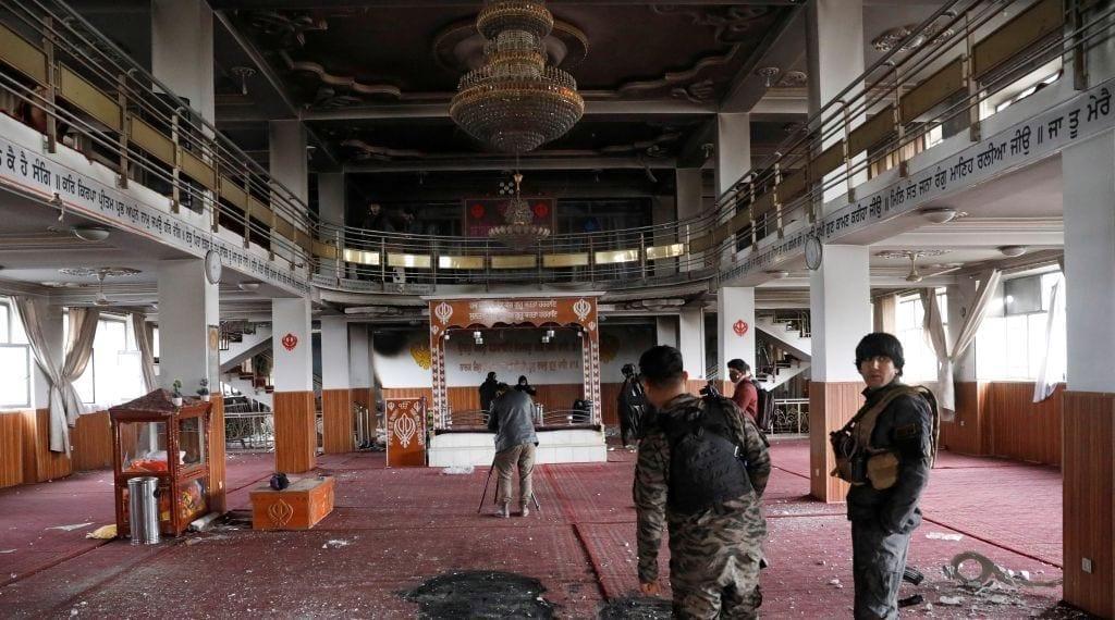 معبد السيخ في كابول - رويترز
