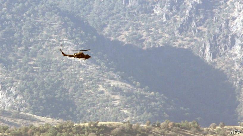 """تركيا تواصل قصفها على إقليم """"كردستان"""" وسط عجز الحكومة العراقية"""