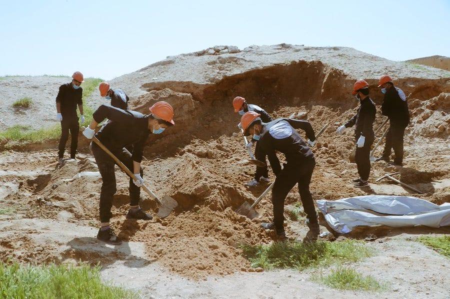 العثور على مقبرة جماعية في الرقة