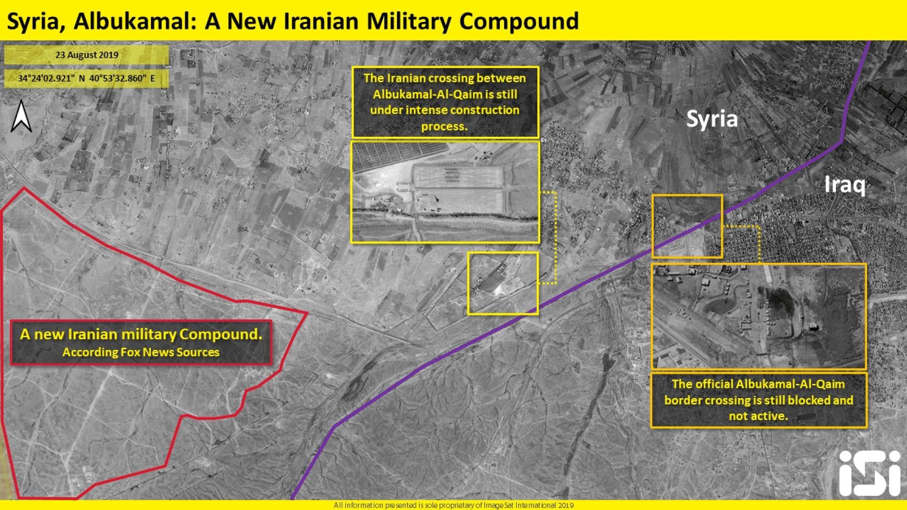 """قاعدة «الإمام علي» في سوريا: إيران تصرّ على تعميرها وطيران """"مجهول"""" يحاول تدميرها"""