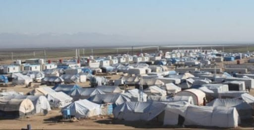 انفجار في مخيم «نوروز» يودي بحياة 4 أطفال من عائلة واحدة