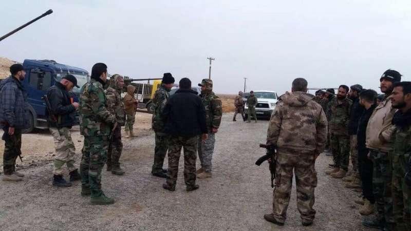 """سوريا- مقتل وجرح عناصر من """"الثوري"""" الإيراني بانفجار لغم في ريف دير الزور"""