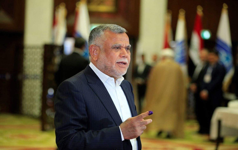 """العامري والغبّان يطلبان دعمَ واشنطن لبغداد، والخلافات تُهدد """"الفتح"""" بالانهيار"""