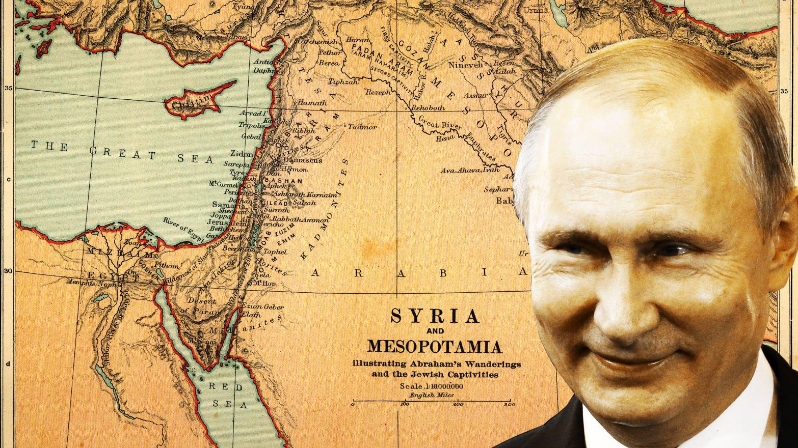 """بعد 5 سنواتٍ دامية في سوريا.. """"بوتين"""" يُشعِل الفَتيل في وجهِ الأسد وإيران"""