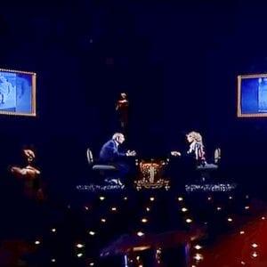 لقطة من اللقاء المتلفز لهشام سليم على قناة القاهرة والناس