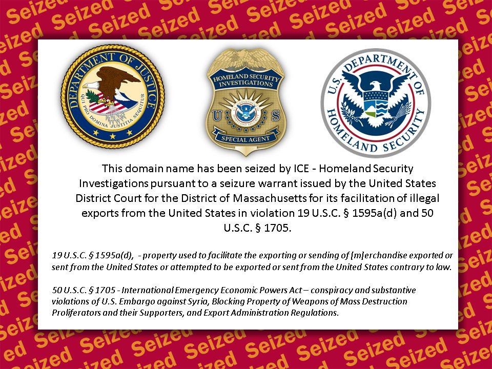 رسالة من الولايات المتحدة على صفحة موقع قطرنجي