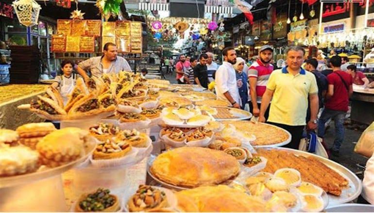 """حلويات العيد """"أسعار نار""""… والسوريون: أصلاً الحلو مضر بالصحة!"""