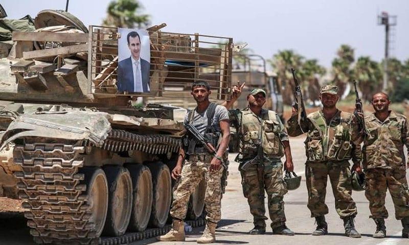 بعد حشد القوات النظامية لاقتحام درعا: اتفاق برعاية روسية ينزع فتيل التوتر