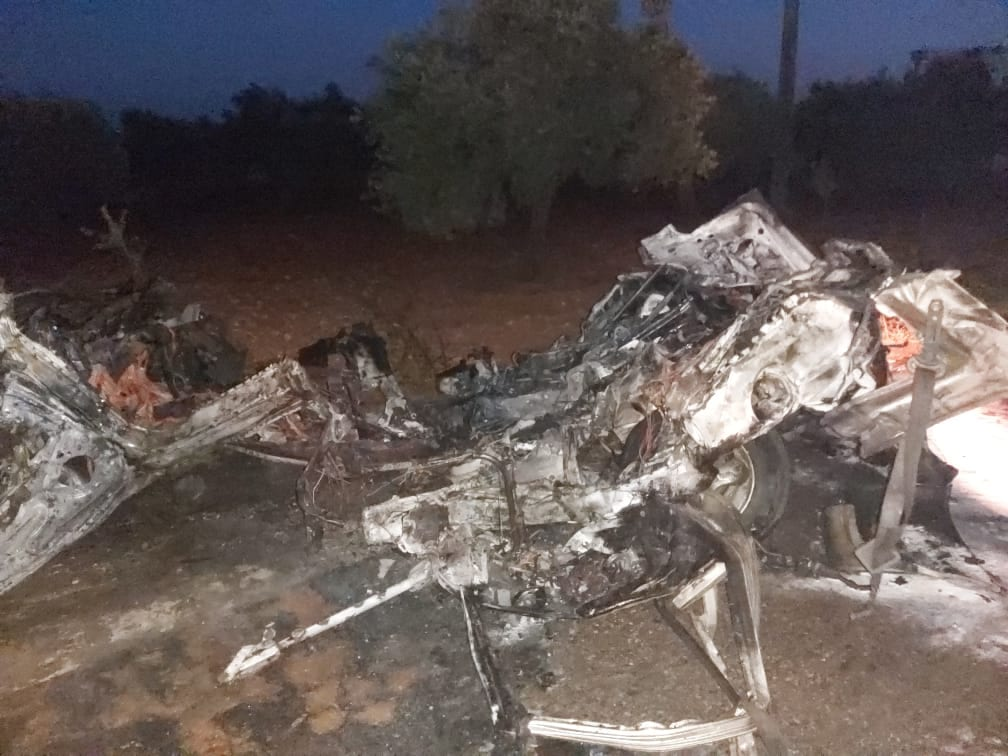 """مصرع قيادي في تنظيم """"أنصار التوحيد"""" بغارة جوية للتحالف الدولي شرقي إدلب"""