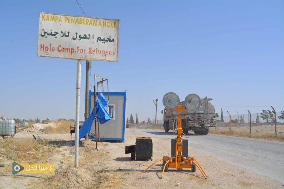 مقتل لاجئ عراقي في مخيم الهول شرقي الحسكة