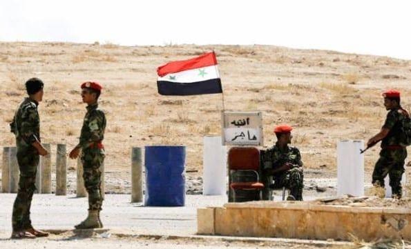 """""""الفرقة الرابعة"""" التابعة للجيش السوري تسحب كافة حواجزها من ديرالزور"""