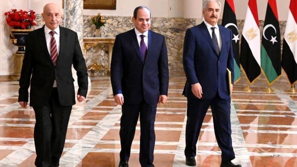 مساعي مصرية لتوطيد الاستقرار والسلام في ليبيا