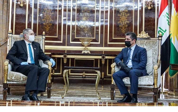 """السفير الأميركي يؤكّد مشاركة """"إقليم كردستان"""" في """"الحوار الاستراتيجي"""" بين واشنطن وبغداد"""