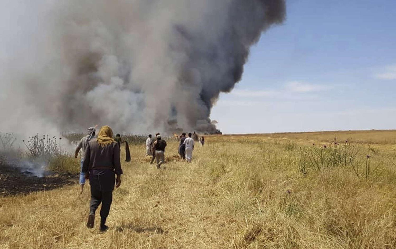 ديالى العراقية.. جهة نافذة تحرق المحاصيل والعطش يغزو القرى