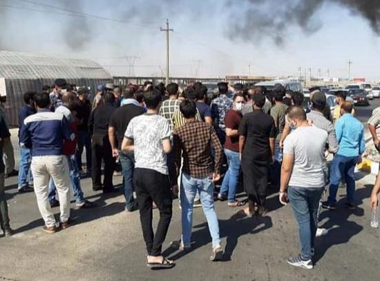 البصرة تفتتح موسم الاحتجاجات الصيفية.. تظاهراتٌ قطاعية وأخرى لنقص الكهرباء